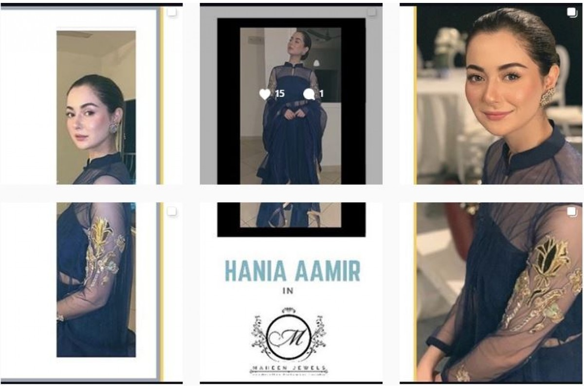 Hania Aamir @haniaheheofficial is looking radiant