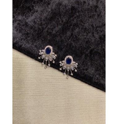 Spark Studs - Sapphire