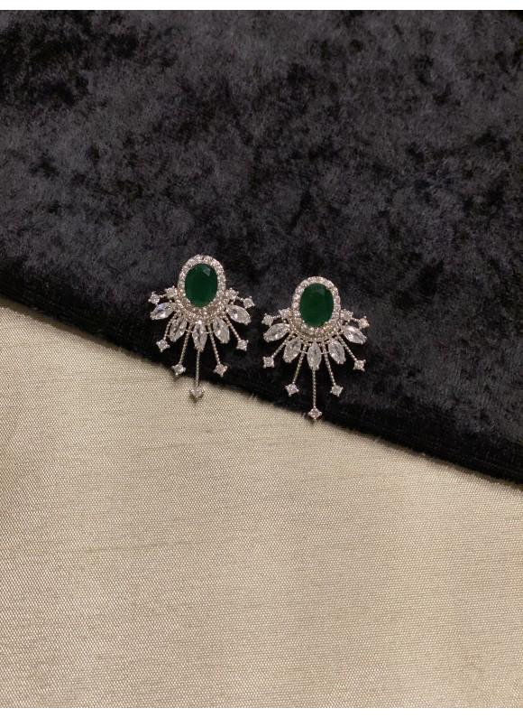 Spark Studs - Emerald