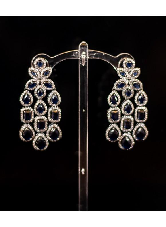 Sapphire Danglers Earrings